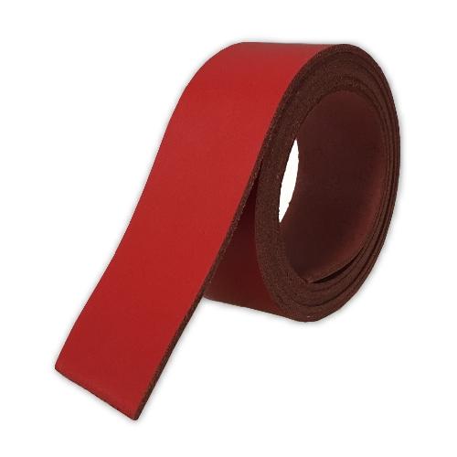 Spaltleder - rot